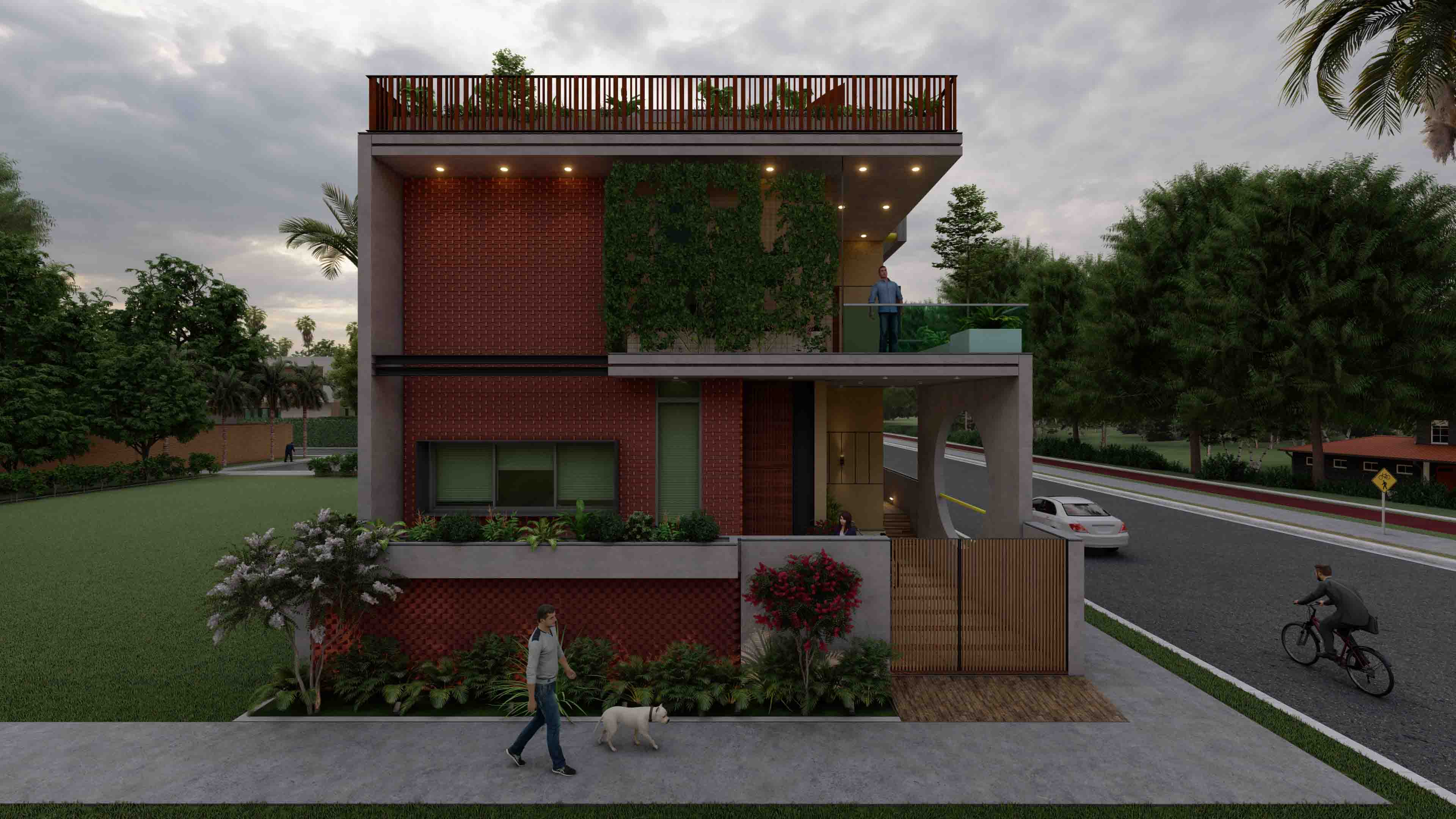 RESIDENCE FOR DEEP CHEMICALS